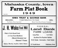 Title Page, Mahaska County 1949